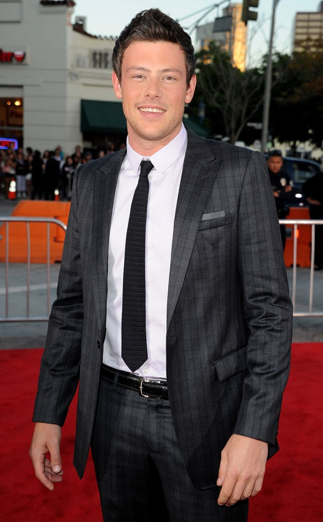 Glee Premiere, Cory Monteith