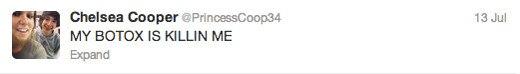 Trayvon Martin tweets - Mandy Moore - botox