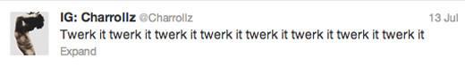 Trayvon Martin Tweets - Cory Booker - twerk