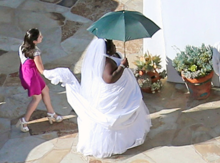 Jimmy Kimmel Wedding, Gabourey Sidibe