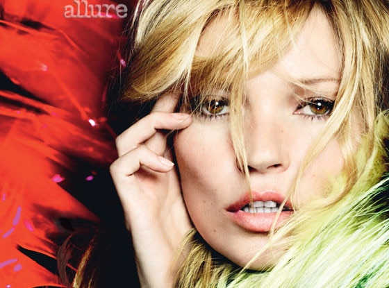 Kate Moss, Allure August Cover under Strict Embargo until 7/16/2013