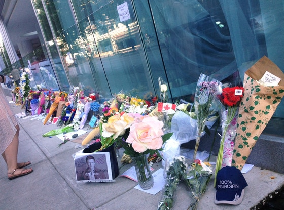 Cory Monteith, Memorial