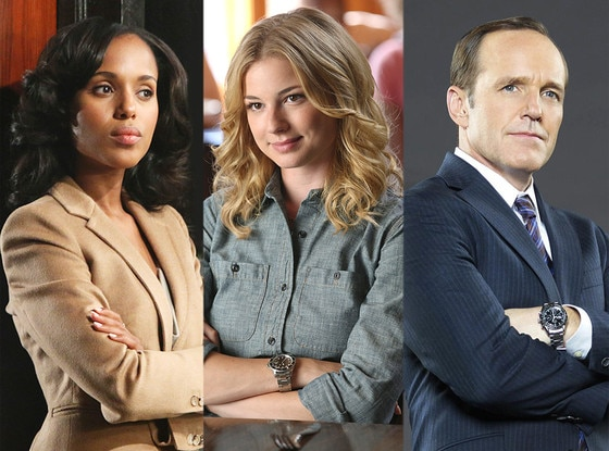 Kerry Washington, Clark Gregg, Emily VanCamp