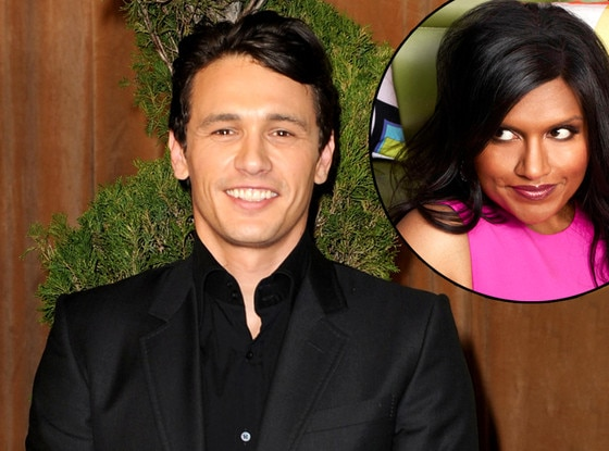 James Franco, Mindy Kaling
