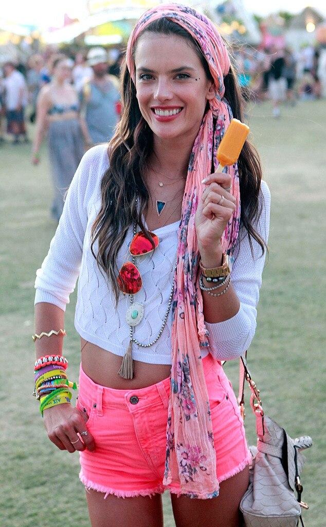 Alessandra Ambrosio, Coachella 2013