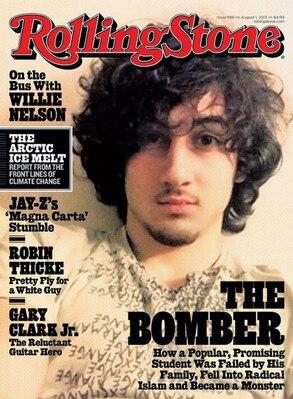 Rolling Stone, Dzhokhar Tsarnaev