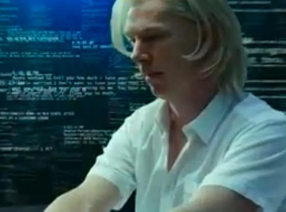 Benedict Cumberbatch, Wikileaks
