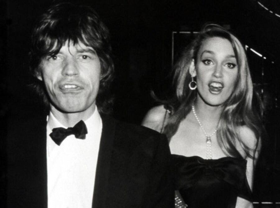 Jerry Hall, Mick Jagger