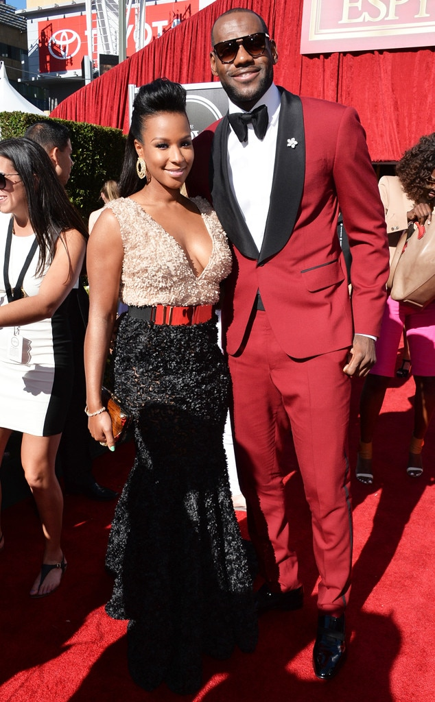 LeBron James, Savannah Brinson, ESPY Awards