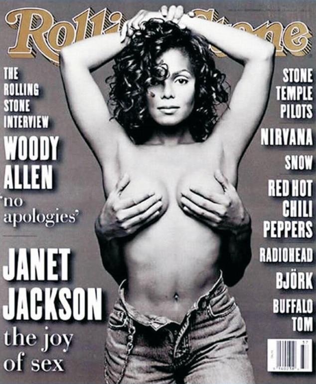 Janet Jackson, Rolling Stone, Iconic Celeb Photos