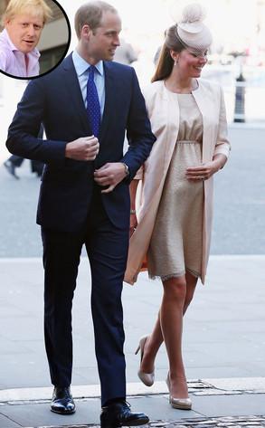 Boris Johnson, Kate Middleton, Prince William
