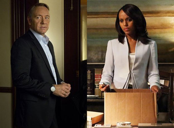Kevin Spacey, House of Cards, Kerry Washington, Scandal