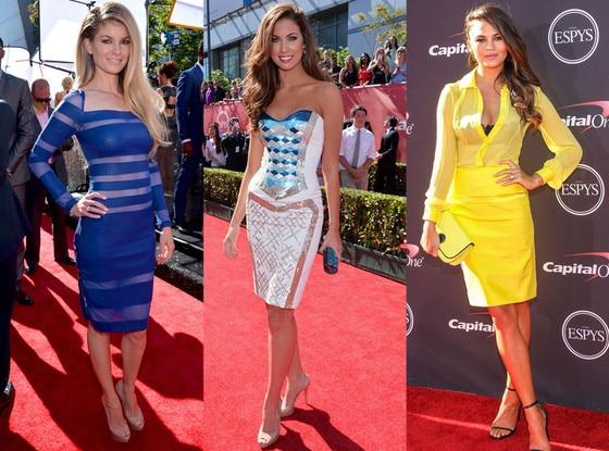 Marisa Miller, Katherine Webb, Chrissy Teigen, ESPY Awards