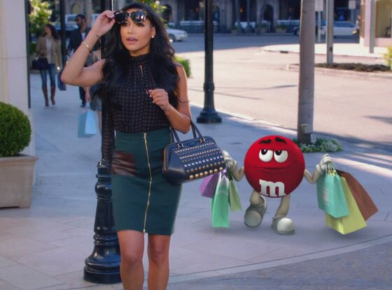 Naya Rivera, M&M's