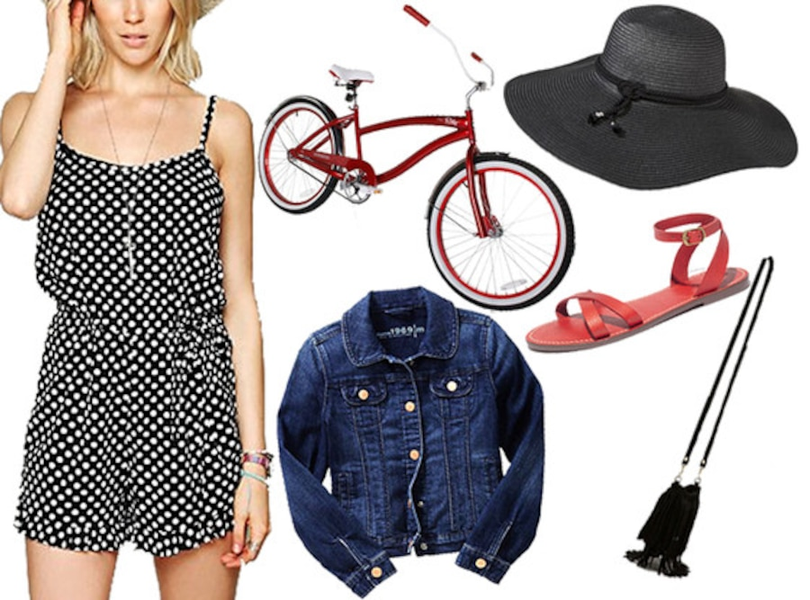 Bike Outfit Collage