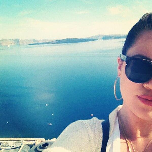 Kardashian, Instagram, Greece