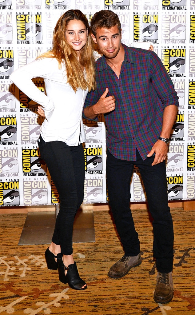 Shailene Woodley, Theo James, Comic-Con