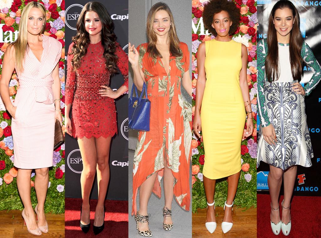 Best Looks of the Weeks, Molly Sims, Selena Gomez, Miranda Kerr, Solange Knowles, Hailee Steinfeld