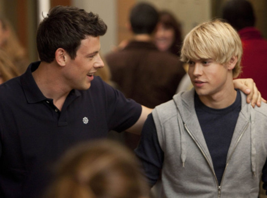 Cory Monteith, Chord Overstreet, Glee