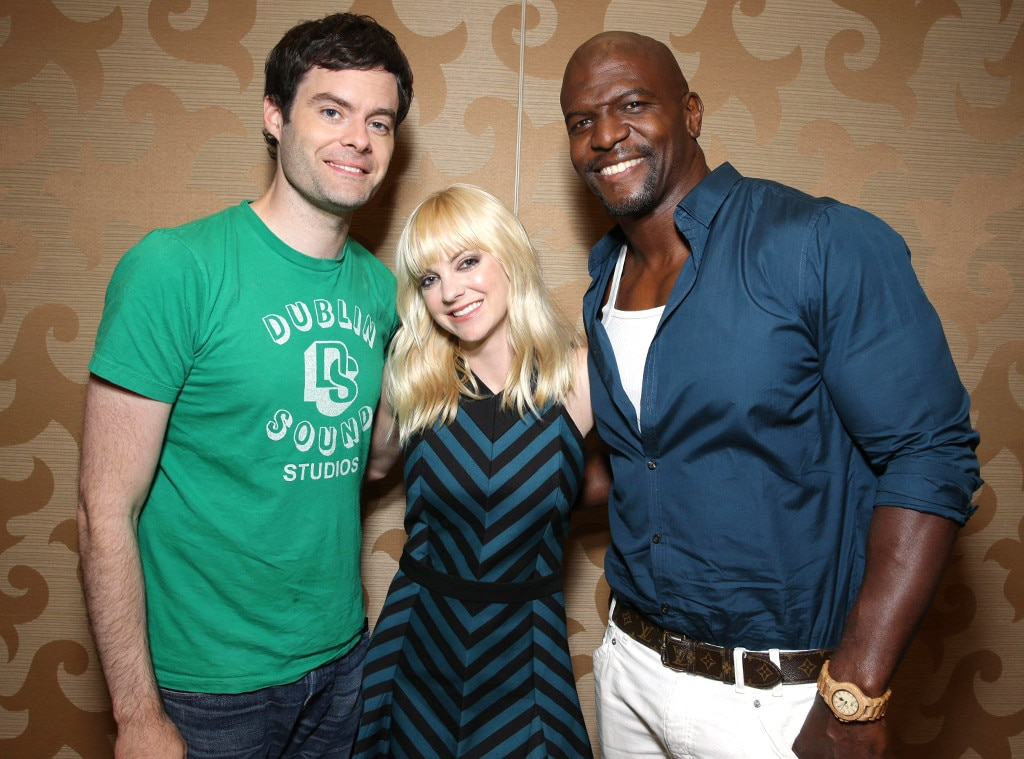 Bill Hader, Anna Faris, Terry Crews, Comic-Con