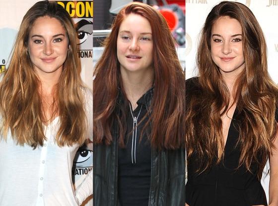 Shaileen Woodley, Blonde, Redhead, Brunette