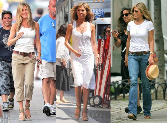 Jennifer Aniston, Stuart Weitzman Shoes