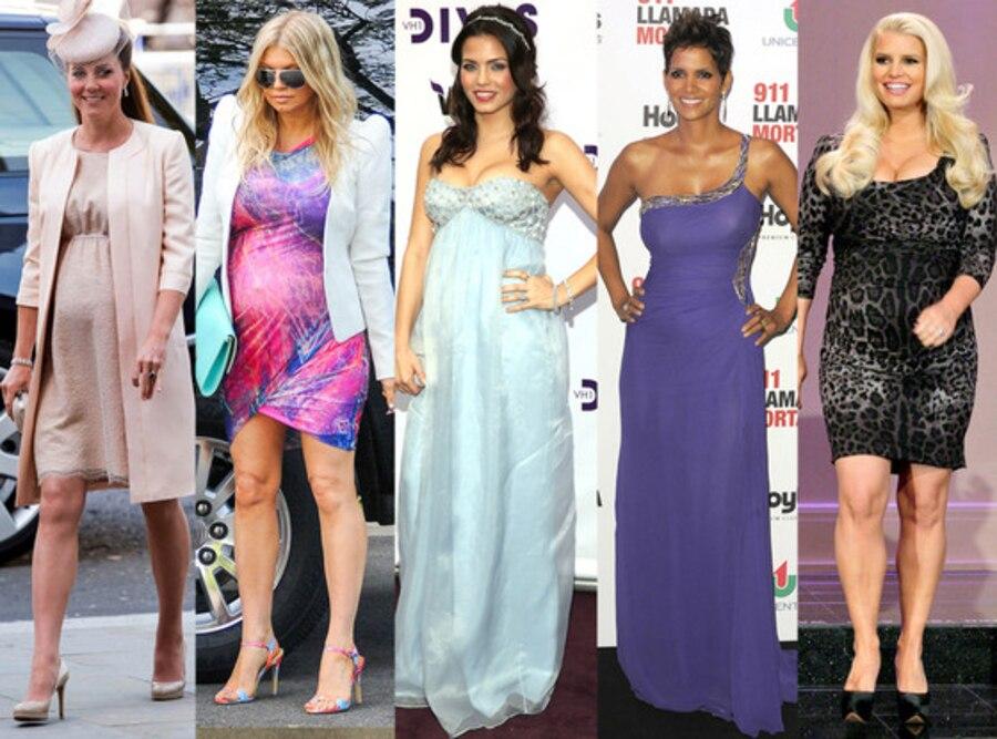 Kate Middleton, Fergie, Jenna Dewan, Halle Berry, Jessica Simpson