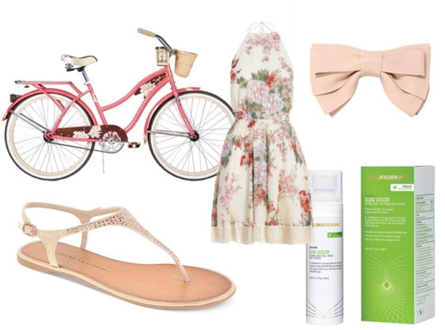 Pink Bike Collage