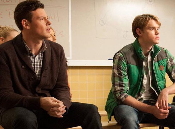 Cory Monteith, Chord Overstreet, Glee