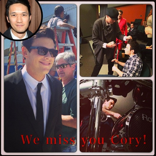 Harry Shum, Instagram, Cory Monteith