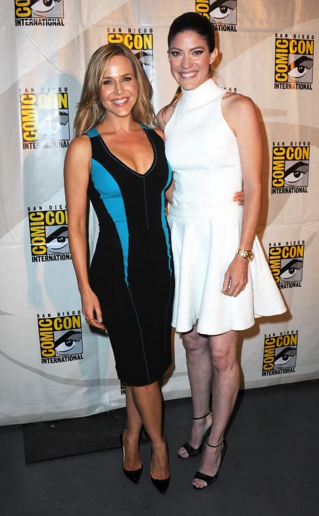 Julie Benz, Jennifer Carpenter, Comic-Con
