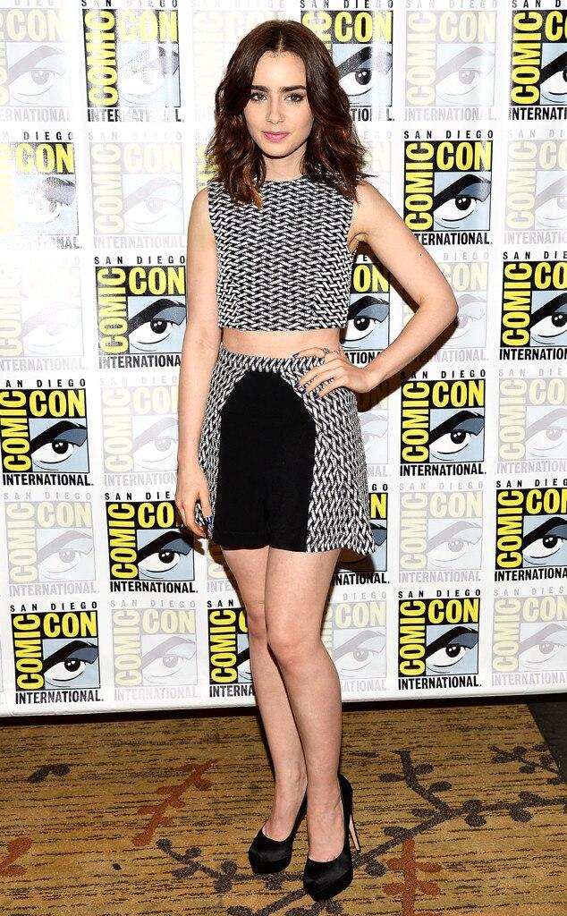 Lily Collins, Comic-Con