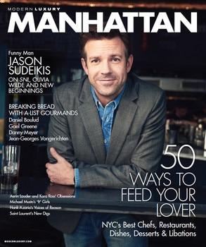 Jason Sudeikis, Manhattan Magazine
