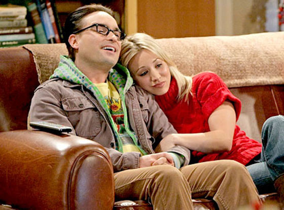 Kaley Cuoco, Johnny Galeck, The Big Bang Theory