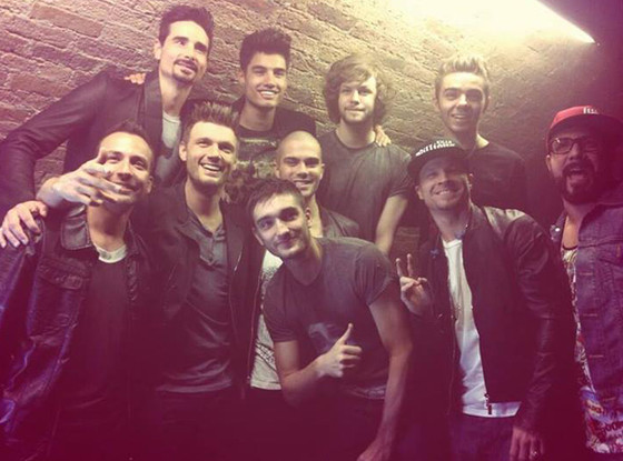 The Wanted, The Backstreet Boys, Facebook
