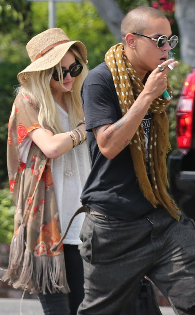 Ashlee Simpson, Evan Ross