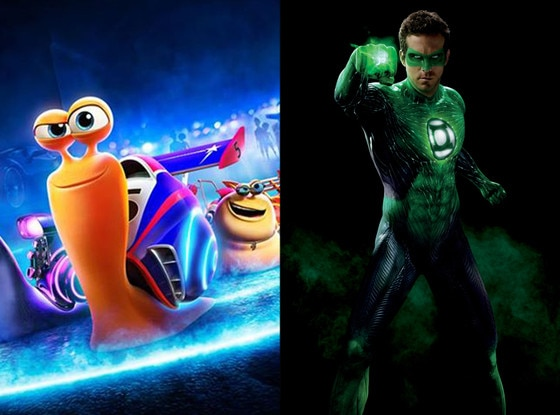 Turbo, Green Lantern, Ryan Reynolds