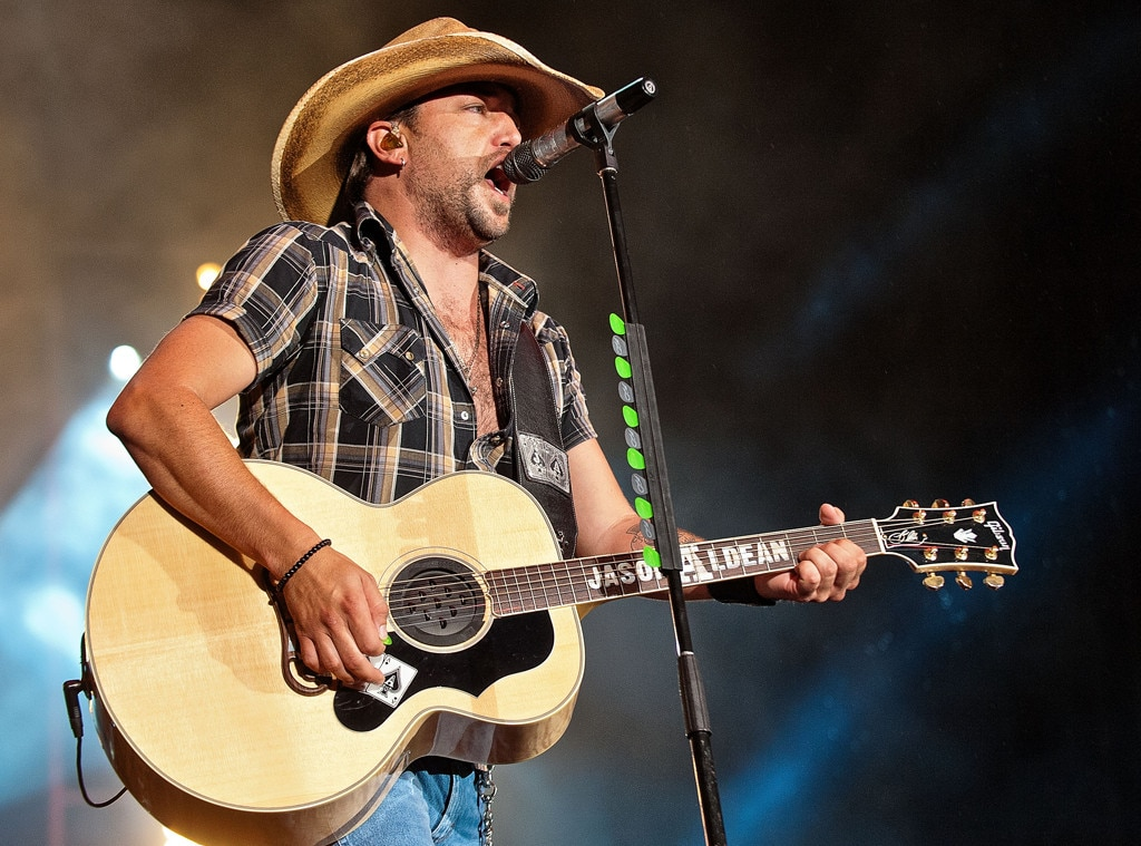 Jason Aldean From Musicians Performing Live On Stage E News