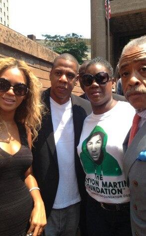 Beyonce, JayZ, Reverend Al