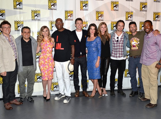 Scarlett Johansson, Samuel L. Jackson, Chris Evans