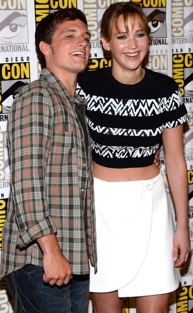 Josh Hutcherson, Jennifer Lawrence