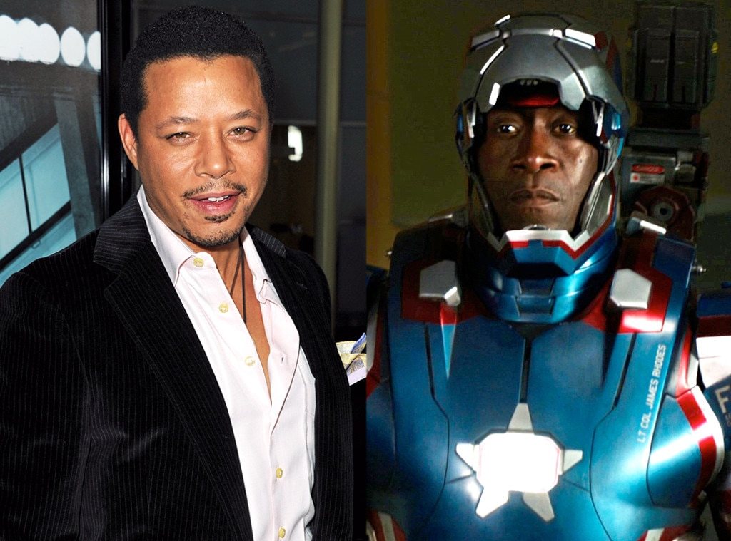 Terrence Howard, Don Cheadle, Roles Recast
