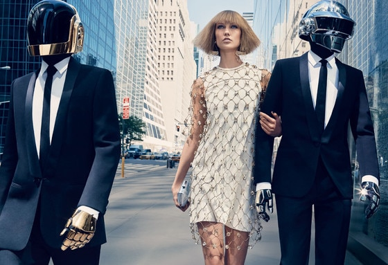 Karlie Kloss, Daft Punk, Vogue
