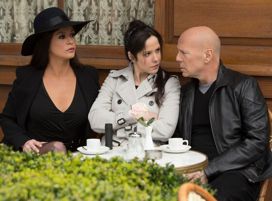 Catherine Zeta-Jones, Mary-Louise Parker, Bruce Willis, Red 2