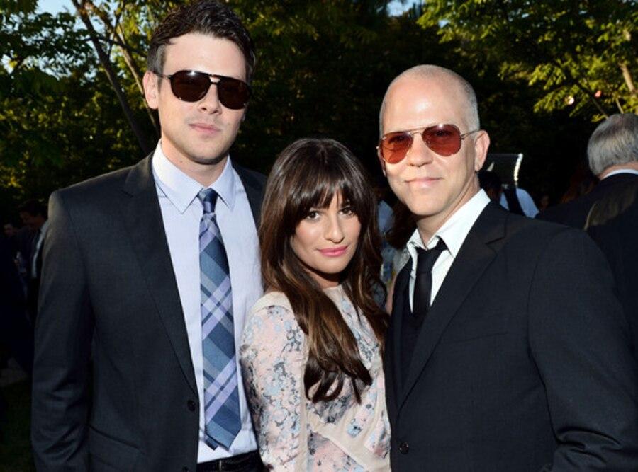 Cory Monteith, Lea Michele, Ryan Murphy