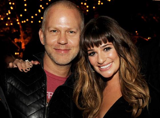 Lea Michele, Ryan Murphy