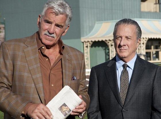 LUCK, Dennis Farina, Dustin Hoffman