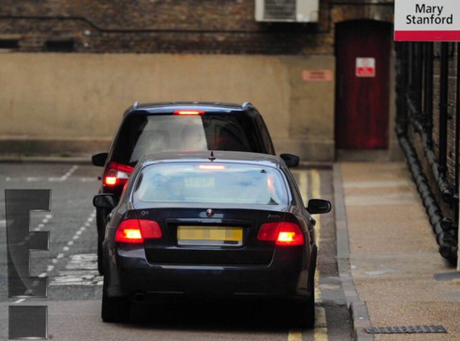 Kate Middleton, Arriving at Hospital, Labor, Royal Baby