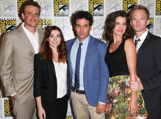 Jason Segel, Alyson Hannigan, Josh Radnor, Cobie Smulders, Neil Patrick Harris, How I Met Your Mother, Comic-Con