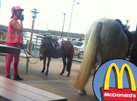McDonald's, Horse, Twit Pic